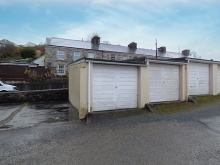 BLOCK BUILT SINGLE GARAGE - TAVISTOCK
